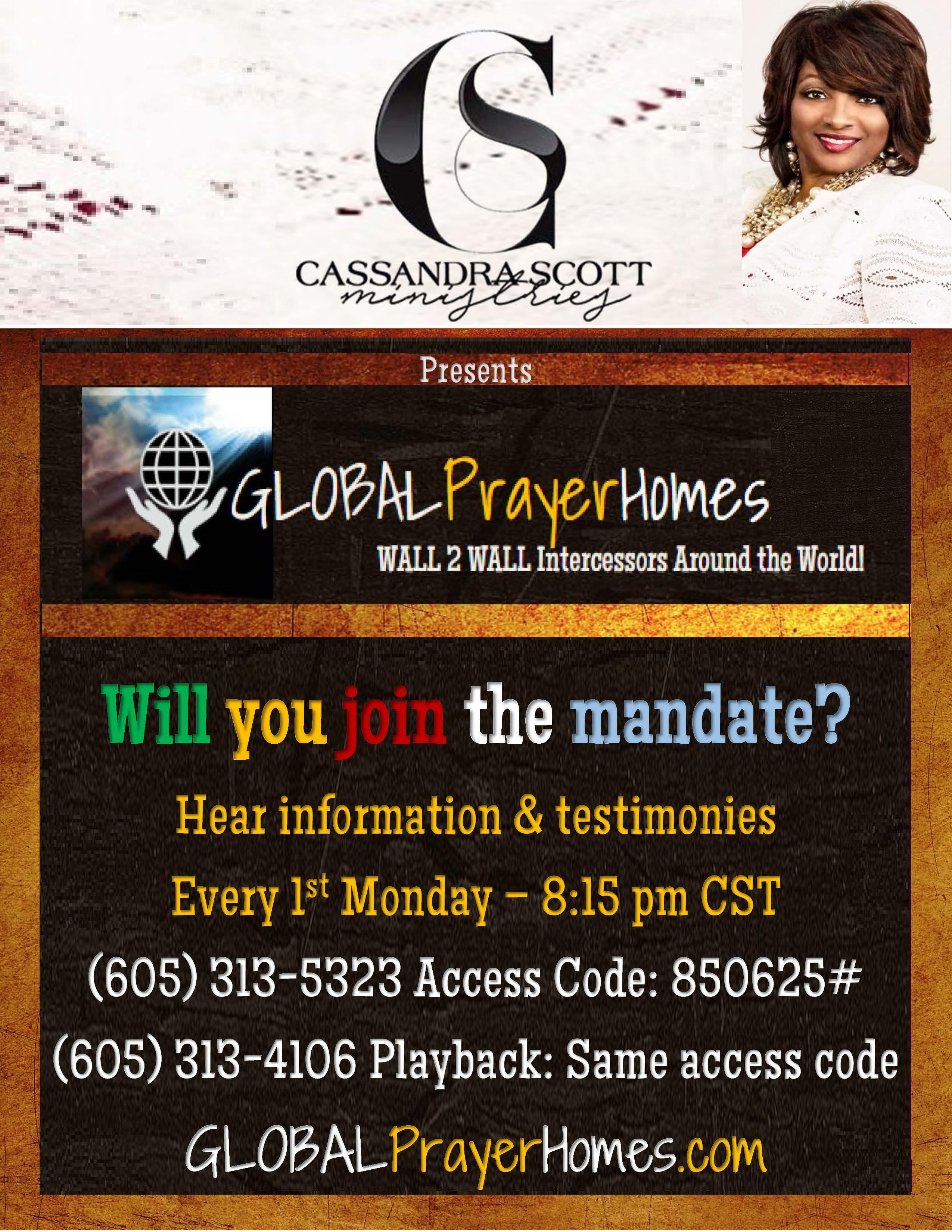 Global Prayer Homes - Wall2Wall Intercessors Home